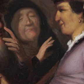 ПРОДАВЕЦ ОЧКОВ. РЕМБРАНДТ. 1624