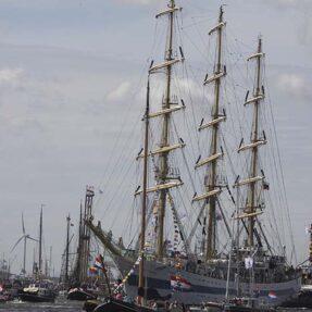 SAIL AMSTERDAM: ПАРАД ПАРУСНИКОВ В АМСТЕРДАМЕ (фото 4)