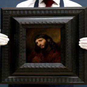 ГОЛОВА МОЛОДОГО ЧЕЛОВЕКА. ЛИК ИИСУСА