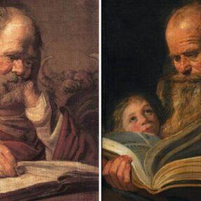 ПОХИЩЕНИЕ ЕВАНГЕЛИСТА ЛУКИ ХАЛСА (фото 2), СВЯТОЙ ЛУКА И СВЯТОЙ МАТФЕЙ