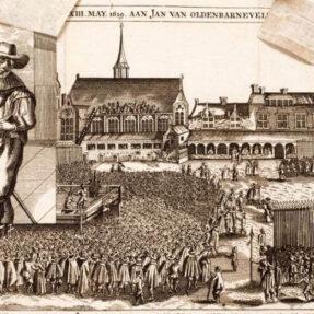 ПОЭТ ЙОСТ ВАН ДЕН ВОНДЕЛ И ПЕРИПЕТИИ ЗОЛОТОГО ВЕКА (фото 2) КАЗНЬ ЙОХАНА ВАН ОЛДЕНБАРНЕВЕЛТА В ГААГЕ