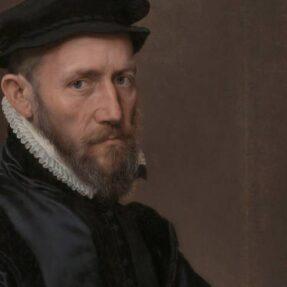АНТОНИС МОР. ПОРТРЕТ СЭРА ТОМАСА ГРЭХЭМА (1554 г)